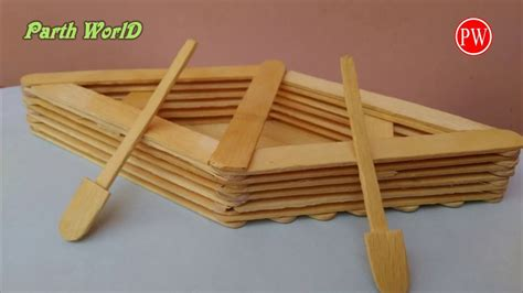 how to make a boat diy how to make a boat with popsicle sticks handmade diy