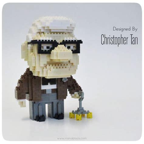 Brick Lego Nano Blocks Minion nanoblock carl from pixar s up christopher chris d elia