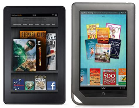 the real battle with the kindle fire is with the nook color