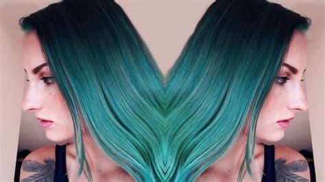 directions alpine green semi permanent hair dye la riche how i dyed my hair green directions alpine green