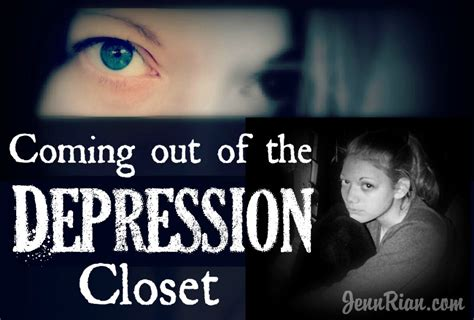 12 Tips On Coming Out Of The Closet by Coming Out Of The Depression Closet