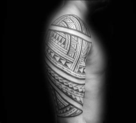 polynesian tattoo inspiration 50 polynesian arm tattoo designs for men manly tribal ideas