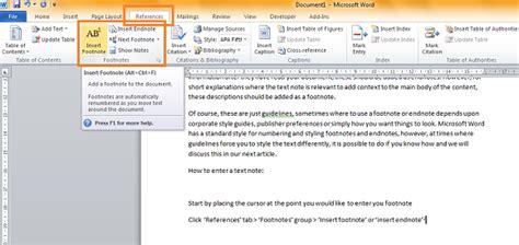 format footnotes word mac word insert footnote shortcut mac