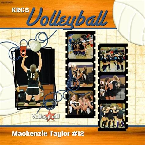 scrapbook layout ideas for volleyball 149 best images about volleyball scrapbook on pinterest