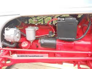 how to convert a ford 8n tractor from 6 volts to 12 volts