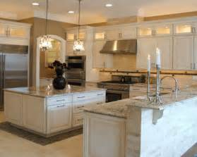 White Kitchen Cabinets With Granite Top 29 Pictures White Kitchen Cabinets Granite Countertop White Kitchen Cabinets Granite
