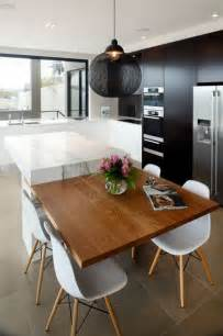 Modern Kitchen Island Table by 25 Best Ideas About Kitchen Island Table On Pinterest