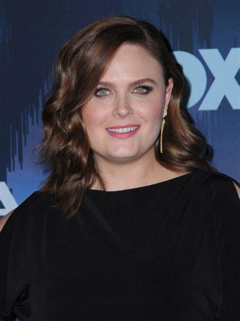 Emily Deschanel Is by Emily Deschanel At The Fox All During The 2017