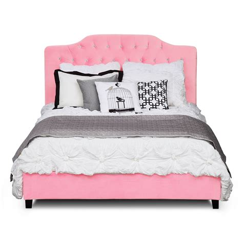 pink bed layla pink queen bed furniture com