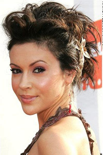 haircuts application alyssa milano hairstyles haircuts fashion women