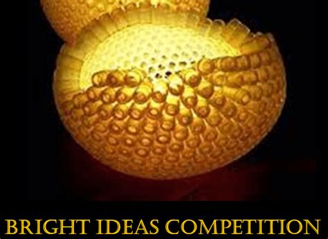 Bright Scholarship For Mba by Bright Ideas Competition To Participate In Commonwealth