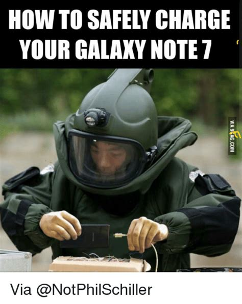 How To Meme - how to safely charge your galaxy note 7 via how to meme on sizzle