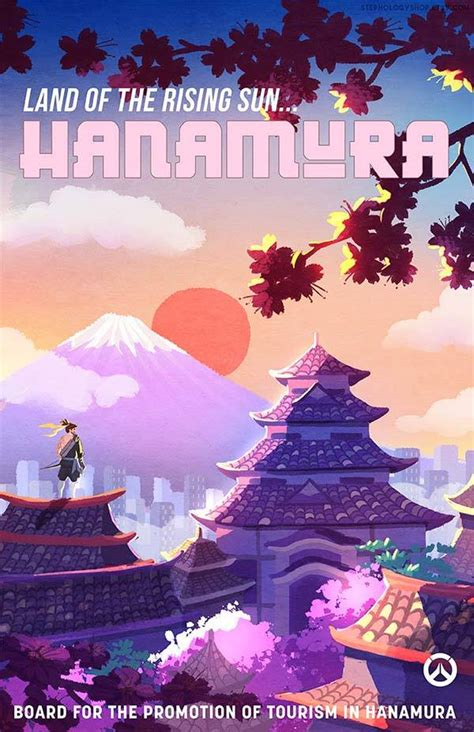 Poster Overwatch 08 the travel overwatch poster set highlights those iconic locations from the gadgetsin