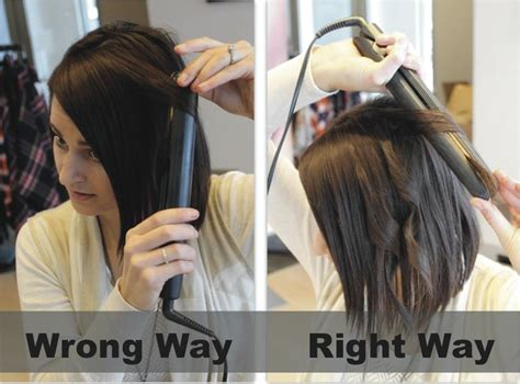 curling medium length hair with curling iron tip tuesday flat iron curls beauty reform