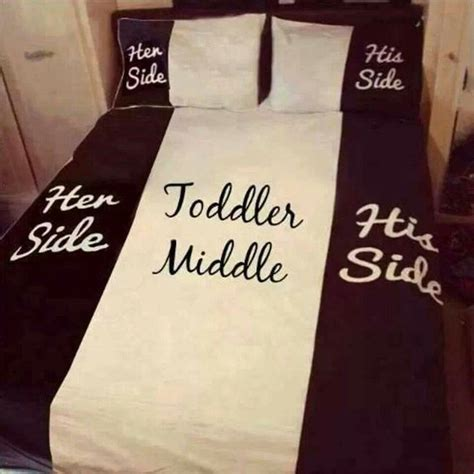 his and her bed set her side his side toddler middle my bedroom ideas
