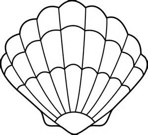 drawings of seashells clipart best