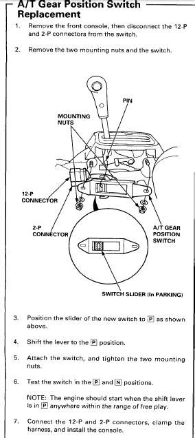 [HB_2627] Neutral Safety Switch Location Free Diagram