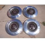 Lot Of 4 Vintage Ford Crown &amp 3 Lions Wheel Cover Hubcap 1974 See