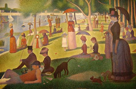 georges seurat most famous paintings sunday in the park with george regenaxe