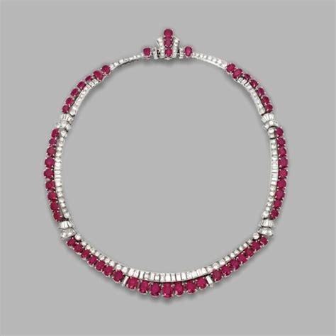 ruby jewelry sotheby s new york eloge de l par