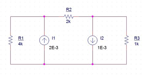 how to find current across a resistor in a parallel circuit how to find voltage across resistors with only current sources electrical engineering stack