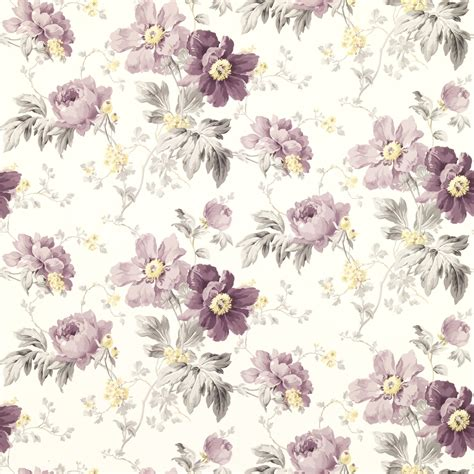 laura ashley peony curtains peony garden amethyst floral wallpaper at laura ashley