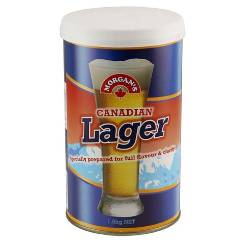 morgans brewing canadian lager s kit