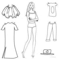 paper doll coloring pages paper doll coloring coloring pages
