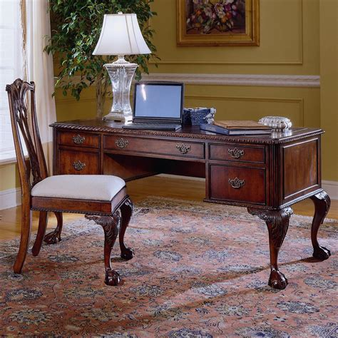 hooker furniture writing desk ball and claw writing desk by hooker furniture wolf and