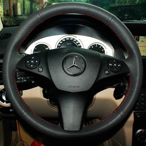 Mercedes Steering Wheel Covers by Steering Wheel Recovering Kit For Mercedes Clc