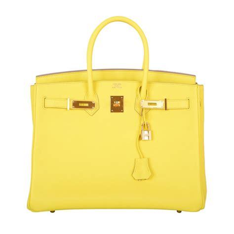 Hermes Bag Kayu Yellow new yellow hermes birkin bag 35cm gorgeous lime soufre epsom w p at 1stdibs