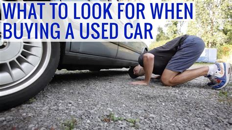 7 Tips On Buying A New Car by What To Look For When Buying A Used Car Tips Issues