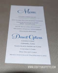 free wedding menu templates for microsoft word 3 best images of wedding menu template word free wedding