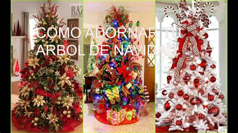 como adornar tu arbol de navidad ideas decoracion