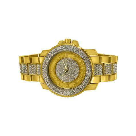 Bling Bling bling bling gold hip hop bracelet set