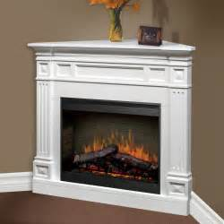Corner Electric Fireplace Dimplex Traditional Corner Ii Electric Fireplace At Hayneedle