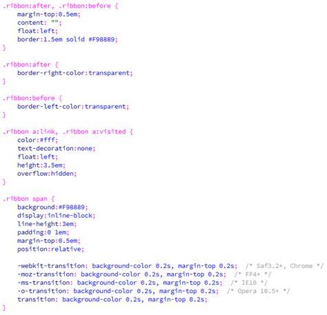 membuat menu dropdown css bertingkat dengan efek jquery cara membuat efek ribbon pada menu menggunakan css
