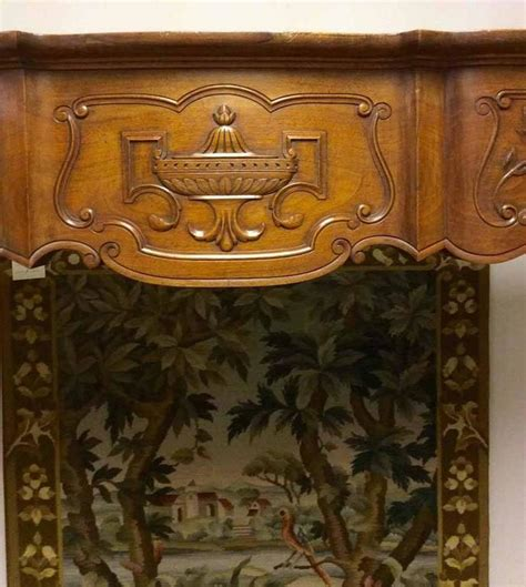 antique wood mantel for sale at 1stdibs