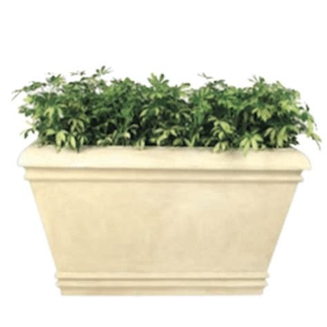 Frp Planters by Palace Rectangular Fiberglass Planter Site Furnishings