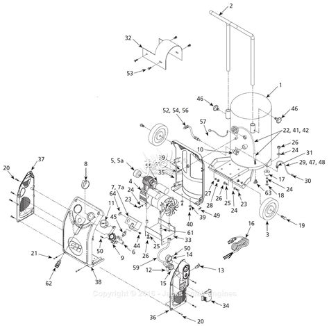 cbell hausfeld hm700099av parts diagram for air compressor parts