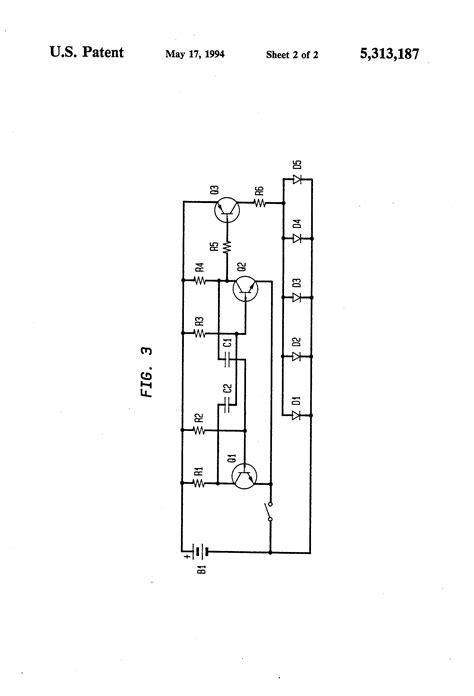light emitting diode hazards patent us5313187 battery powered superluminescent light emitting diode safety