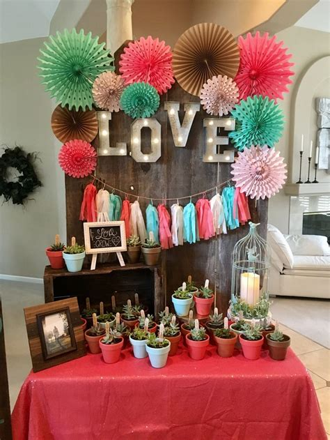 25 best ideas about coral bridal showers on pinterest