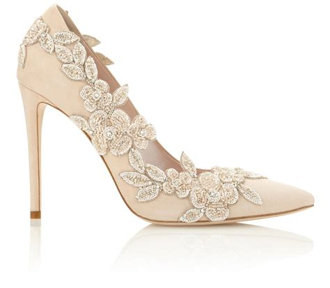 Wedding Shoes With Heel Detail by Bridal Shoes Beautiful Designer Wedding Shoes Emmy
