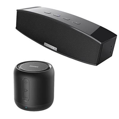 anker's popular bluetooth speakers are on sale today for