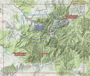 durango trails colorado recreation topo map latitude
