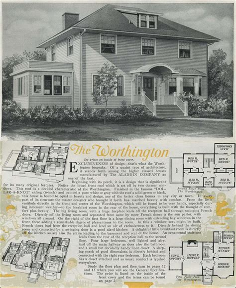 colonial revival house plans 1920