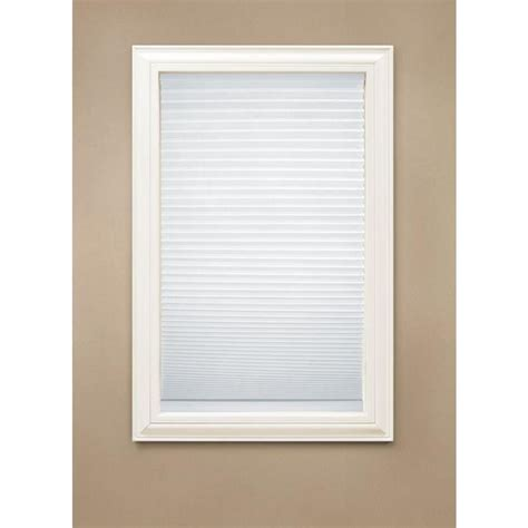 home decorator collection blinds home decorators collection cut to width snow drift 9 16 in