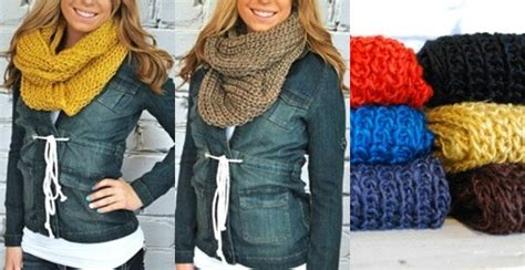 7 Scarf Styles For Fall by Cozy Fall Infinity Scarves 7 Colors