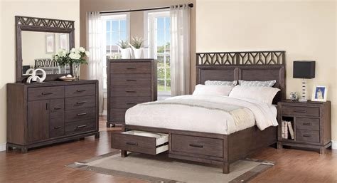 coaster bedroom furniture coaster grayson bedroom set dark coffee 203681 bed set