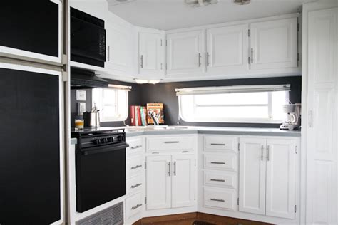 rv kitchen cabinets fabulous 5th wheel cer makeover
